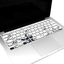 TopCase Marble Pattern Ultra Thin Soft Silicone Keyboard Cov