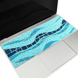 TOP CASE - Dot Wave Keyboard Cover Silicone Skin Compatible