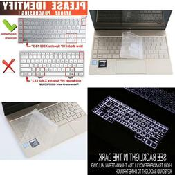 Tpu Ultra Thin Keyboard Cover For 2018/2017 Hp Spectre X360