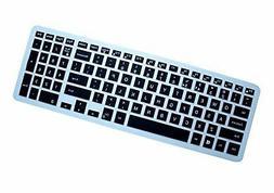 AutoLive Translucent Black Ultra Thin Silicone Keyboard Skin