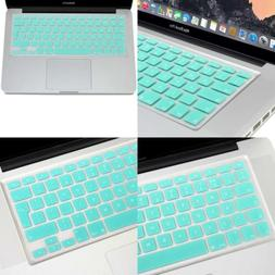 GMYLE Turquoise Blue Silicon Keyboard Cover for MacBook Air