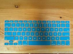 GMYLE Turquoise Robin Egg Blue Silicone Keyboard Cover for M