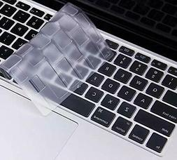 Ultra Thin Clear Keyboard Cover for MacBook Air 13 Inch & Ma