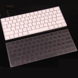 XSKN Ultra Thin Clear Soft TPU Keyboard Cover Skin for Apple