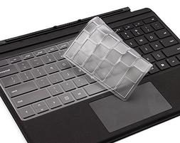XSKN Ultra Thin Clear Transparent TPU Keyboard Skin Cover fo