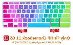 "CaseBuy Ultra Thin Colorful Keyboard Cover Skin for 11.6"" HP"