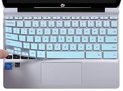 CaseBuy Ultra Thin Keyboard Cover Compatible HP Chromebook 1