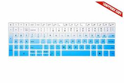 "Leze - Ultra Thin Keyboard Cover Compatible with 15.6"" Dell"