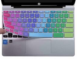 CaseBuy Ultra Thin Keyboard Cover for HP Chromebook 11 x360