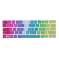 "Ultra Thin Keyboard Cover Protector for Touch Bar 13"" and 15"