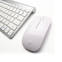 Morrivoe Ultra-thin Mini Keyboard Suit 2.4 G Wireless Keyboa
