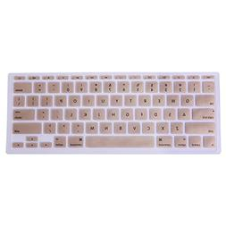 HDE Protective Silicone Keyboard Cover Skin for Macbook Air