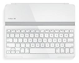 Logitech Ultrathin Keyboard Cover for iPad 2G/iPad 3G, White