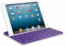 Logitech Ultrathin Keyboard Cover Purple for iPad Mini