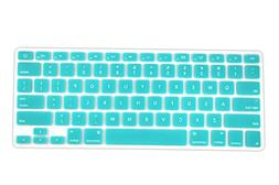 DHZ Lake Blue Keyboard Cover Silicone Skin for 2015 or Older