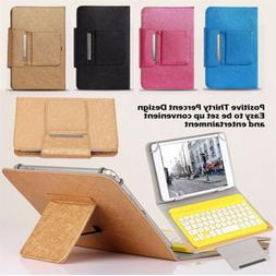 Universal Case Cover Bluetooth Keyboard Tablet Cover Stand