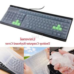 Universal Clear Keyboard Skin Protector Silicone Cover for P