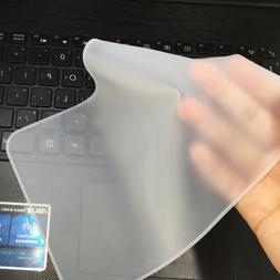 Universal Clear Protector Cover Laptop Silicone Keyboard Ski