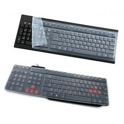 Universal Silicone Desktop Computer Keyboard Cover Skin Prot