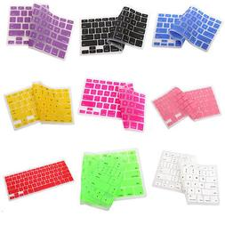 US 9 Colors Silicone Keyboard Cover Skin for Apple Macbook P