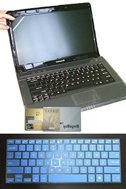 BingoBuy US Layout Keyboard Skin Cover + 11.6'' anti glare S