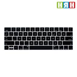 US Spanish Silicone Keyboard Cover For Macbook Touch Bar A17