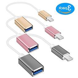 IPEAK USB C to USB 2.0 Adapter Type C Male to USB A Female C