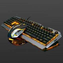 Easydeal V1 USB Wired Ergonomic Backlit Mechanical Feel Gami