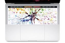 HRH Watercolor Art Four Seasons Tree Touch Bar Keyboard Skin