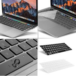 Waterproof Clear Silicone Keyboard Cover Skin F 2018 Macbook