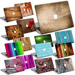 Wood Painting Hard Case Cover +KB +SP For New Macbook Pro Ai