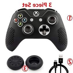 Xbox One S Controller Studded Silicone Cover Skin Case for M