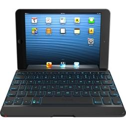 Zagg, Inc - Zagg Zaggkeys Keyboard/Cover Case  For Ipad Mini